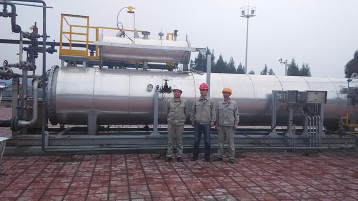 我公司实施的水套加热炉自动控制系统能自成系统就地